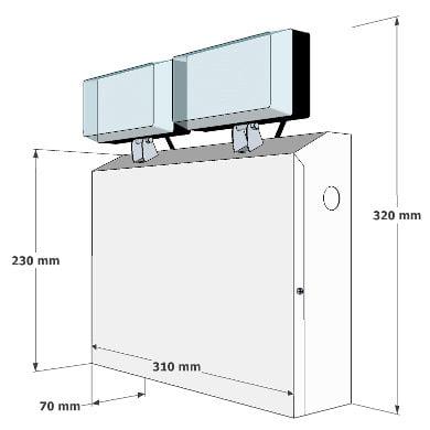 X-TSE Dimensions
