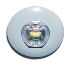 LED down light with corridor lens