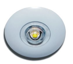 LED down light with open area lens