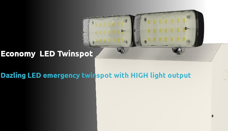 LED twinspot on sale