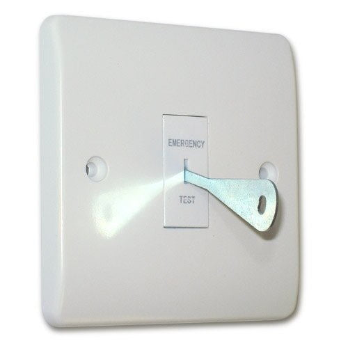 Emergency Lighting test key switch