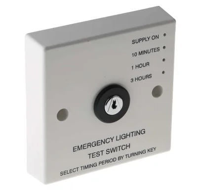 Timed Emergency Light Test Switch